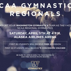 UW Gymnastics Ad