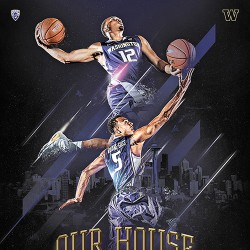 UW Men's Basketball Poster