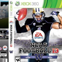 EA NCAA Football Cover and CD Art