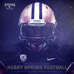 UW Spring Game Invitation